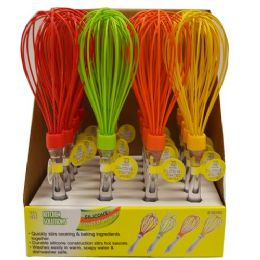 24 Bulk Silicone Coated Wisk