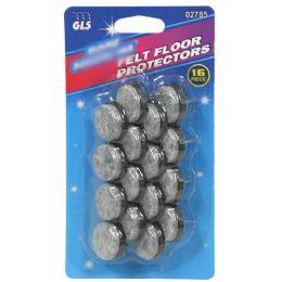 24 Bulk 16 Piece Felt Floor Protector