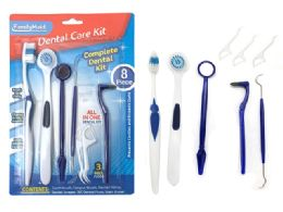 144 Bulk Dental Care Kit 8 Piece