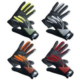36 Bulk Men's Sports Gloves