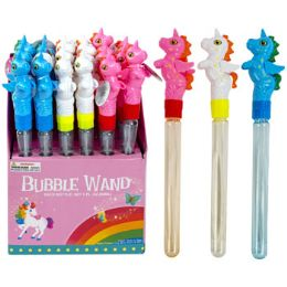 24 Bulk Bubble Wand Unicorn
