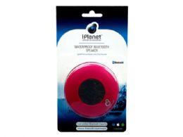 12 Bulk Pink Water Resistant Bluetooth Speaker
