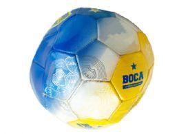 12 Bulk Size 5 Argentina Boca Jrs TrI-Color Soccer Ball