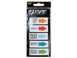 144 Bulk Get The Hint Exclamation Sticky Note Tags