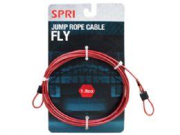 36 Bulk Spri 1.8oz Fly Jump Rope Cable
