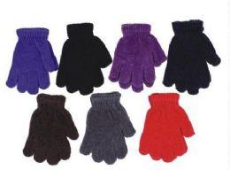 60 Bulk Kids Winter Magic Glove Stretchy Warm