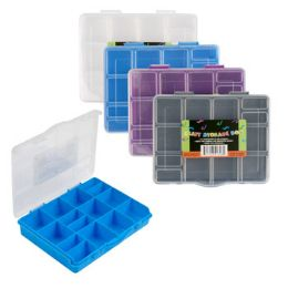 4 Bulk Craft Box Plastcic Mini Compartment