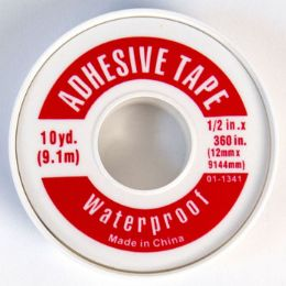 72 Bulk Tape Adhesive Waterproof Plastic Roll Freds Pharmacy Label