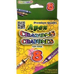 72 Bulk Crayons 8 Count