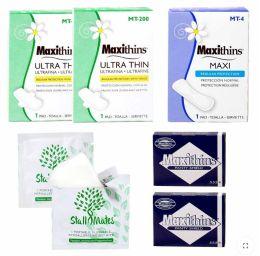 48 Bulk 7 Piece Feminine Hygiene Kits