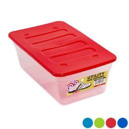 48 Bulk Shoe Box Clear Bottom