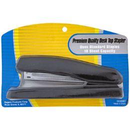 18 Bulk Stapler Large Desktop Size Black