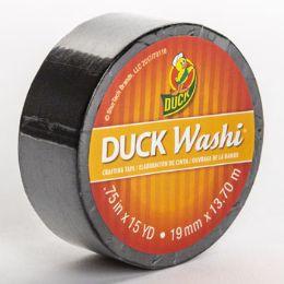 24 Bulk Tape Crafting Duck Washi Black