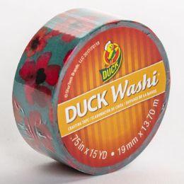 24 Bulk Tape Crafting Duck Washi Flowers