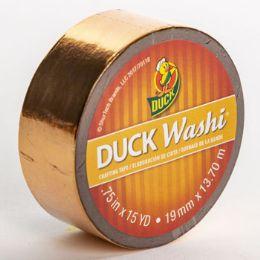 24 Bulk Tape Crafting Duck Washi Metallic Copper