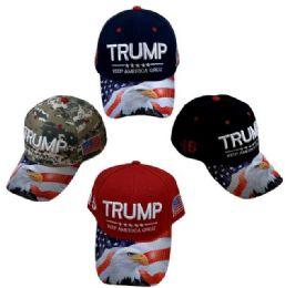 24 Bulk Trump Keep America Great Hat