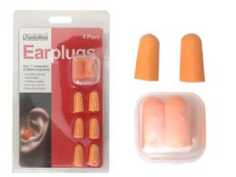 144 Bulk Earplugs 4 Pairs With Case