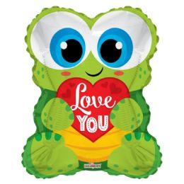 50 Bulk I Love You Valentines Day Frog Balloon