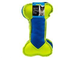 12 Bulk Thick Bone Dog Chew Pull Toy