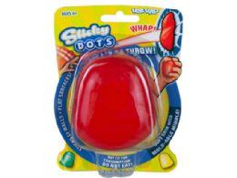 72 Bulk Dots Sticky Throw Toy