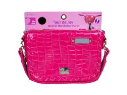 36 Bulk Tour De Joy Hot Pink Handlebar Purse