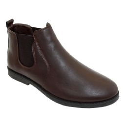 12 Bulk Mens Casual Chukka Ankle Boots In Brown