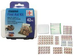 144 Bulk 42pc First Aid Kit