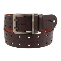 36 Bulk Mens Casual Dress Belt In Brown