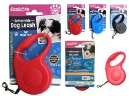24 Bulk Retractable Dog & Pet Leash