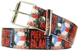 96 Bulk Proud To Be A Puerto Rican Belt
