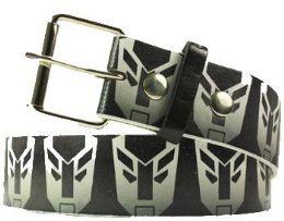 96 Bulk Black Printed Belt
