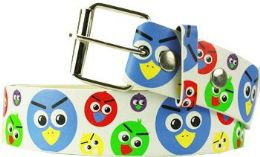 96 Bulk Angry Birds Printed Belt