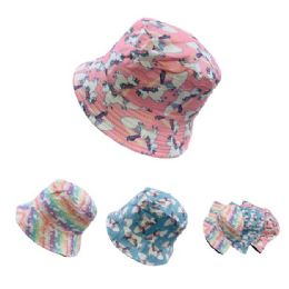 24 Bulk Child's Bucket Hat [unicorn]