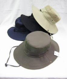 24 Bulk Adult Mesh Fisher Bucket Hat