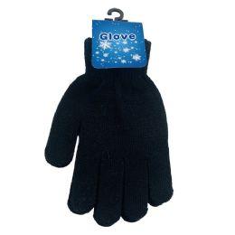 24 Bulk Ladies Magic Gloves [black Only]