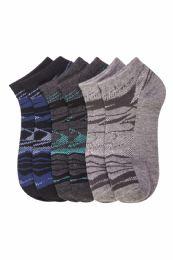 432 Bulk Boys Spandex Ankle Socks Size 6-8