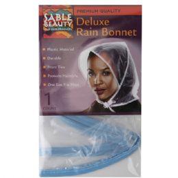 120 Bulk Sable Beauty Deluxe Rain Bonnet
