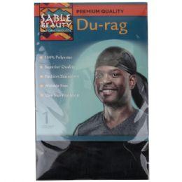 240 Bulk Sable Beauty DU-Rag Black