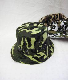 48 Bulk Men's Assorted Camo Bucket Hat