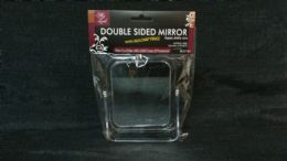 144 Bulk Rectangular Double Sided/zoom Mirror W/ Stand