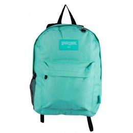 24 Bulk Kids Classic Backpacks In Mint