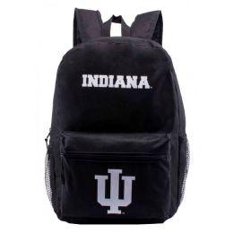 24 Bulk Indiana University Bulk Backpacks In Black