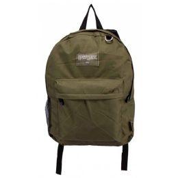 24 Bulk Classic Kids Bulk Backpacks In Olive