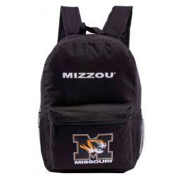 24 Bulk Missouri University Bulk Backpacks In Black