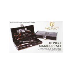 48 Bulk Bazic Beauty Manicure 10 Pack Black