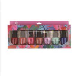 24 Bulk Bazic Beauty Nail Polish 7pk Set