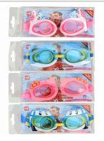 48 Bulk Kids Cartoon Swimming Goggles