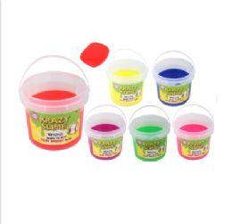 6 Bulk Krazy Slime Bucket Solid
