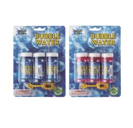 24 Bulk Water World Bubble Refill 30ml 3pk