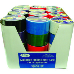 54 Bulk Economy Duct Tape Assorted Color